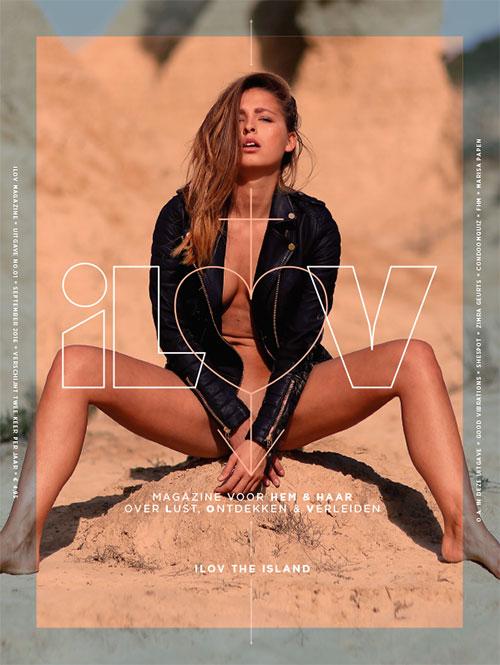 Cover iLOV magazine